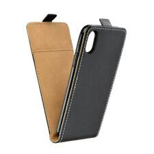 Case for Apple iPhone X - Leathercase Flapcase Flipcase Flip Flap iPhon 10 black