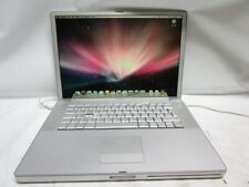 "Apple PowerBook G4 A1106 15.2"" Laptop M9676LL/A 2005 1.5GHz 1GB DDR 80GB HD 10.5"