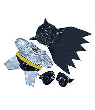 "Bat Boy Outfit w/ Mask n Cape Teddy Bear Clothes Fits 14-18"" Build-A-Bear n More"