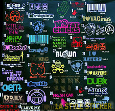 Sticker set 3 pegatinas paquete pulso pegatinas I Love My Boost 1 up life Low