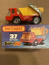 Matchbox 37, Skip Truck, 1976, Mint in a Mint Box, Lesney Products, England