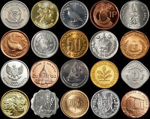 World Coins - All Uncirculated - All only 99p - Buy 5 Get 1 Free