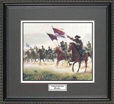 Mort Kunstler THE CHARGE AT TREVILIAN Framed Print Civil War Wall Art Gift