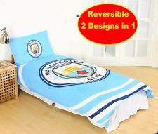 MANCHESTER  CITY F.C. Football Club Official Single Duvet Quilt Cover Set Boys