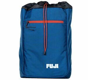 Fuji Sports BJJ Jiu-Jitsu Lightweight Gi BackPack Gear Bag Gearbag  - Blue