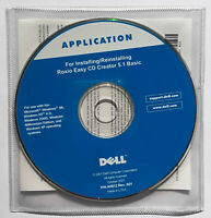 SEALED Dell Software CD For Installing Roxio Easy CD Creator 5.1 Basic P/N 4H812