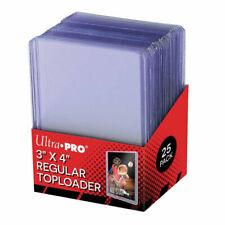 "Ultra PRO 81222 3"" x 4"" Clear Regular Toploader - 25 Pieces"