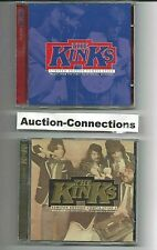 THE KINKS Rare 2 CD Lot Compilation PROMO Sampler Remaster Limited Edition 17 Tx