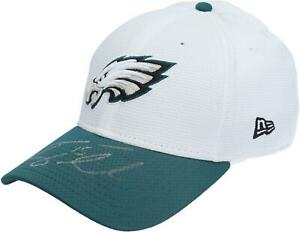 Tim Tebow Eagles Signed Player-Worn White Cap - 2015 Pre-Season - AA0051757