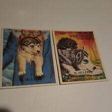 2 Children's BOOKS ALASKA WILDERNESS SERIES ANCHORAGE MARGIE MULLINS SIGNED