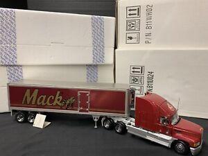 FRANKLIN MINT MACK TRUCK E9-500 REFRIGERATED TRAILER 1:32 scale B11WH02 B11U024