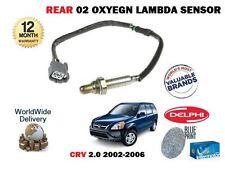 für Honda CRV 2.0 K20A4 2002-2006 NEU hinten Auspuff 02 Sauerstoff Lambdasensor