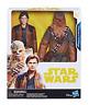 Disney Star Wars Han Solo Hero Series Han Solo & Chewbacca 10 Inch Figure - NEW!