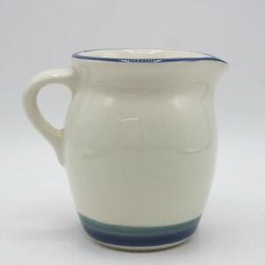 Pfaltzgraff Northwinds Stoneware Creamer Blue & Green