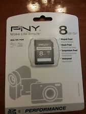 PNY 8GB SDHC Class 4 SD Flash Memory Card Camera 8 G GB
