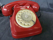 Telefono fisso Siemens Sip colore rosso vintage old italy