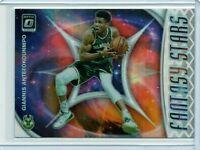 GIANNIS ANTETOKOUNMPO Bucks 2019-2020 NBA Donruss OPTIC FANTASY STARS INSERT