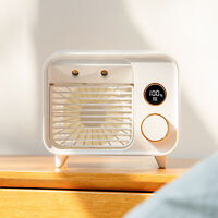 Portable Mini Air Conditioner Cool Cooling Bedroom Cooler USB Fan Desktop My