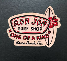 Ron Jon Surf Shop One of a Kind Cocoa Beach Florida Sticker