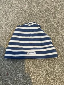 Baby Boys Timberland Hat Blue White One Size