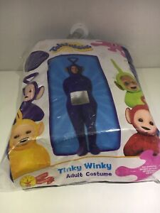 COMPLT RUBIES ADULT TINKY WINKY TELETUBBIES OUTFIT COSTUME PARTY SZ STANDRD Z74