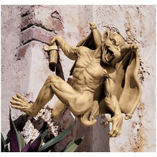 Large: Medieval Gothic Scaling the Walls Climbing Hanging Gargoyle Sculpture