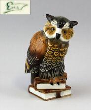 9941081# Figurine Porcellana Gufo su Libri Ens Turingia, germania H17cm