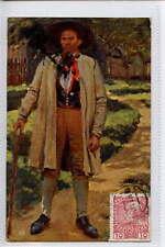 (W16e136-361) Austrian Gentleman,   1911 Used VG