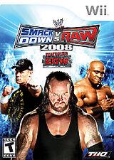 Nintendo Wii : WWE Smackdown vs. Raw 2008 VideoGames