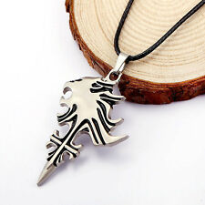 Chic Final Fantasy VIII FF8 Sleeping Lion Head Pendant Metal Necklace Cosplay