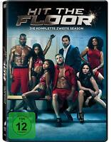Hit the Floor - Season 2 TV Series Dean Cain, Kimberly Elise 3 DVD Box NEW UK R2