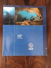 New listing Padi Specialty Wreck Diver Manual Scuba Diving Book Scuba Diver