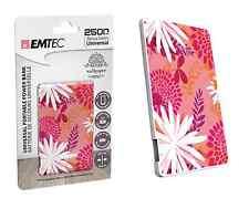 EMTEC ECCHA25U700WP07U POWER BANK ESSENTIALS PEANUTS SNOOPY 2500 mAh BATTERIA