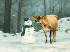 Art Print, Framed or Plaque by Bonnie Mohr - Well Hello There - COW251
