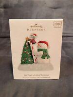 HALLMARK KEEPSAKE ORNAMENT 2010 WE NEED A LITTLE CHRISTMAS