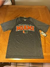 University of Miami Hurricanes Shirt Um Basketball T-shirt Jersey S, M, and L