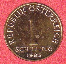 AUSTRIA 1 SCELLINO SCHILLING 1993 #8416