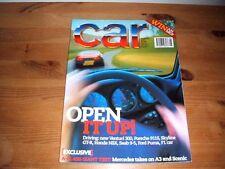 CAR MAGAZINE AUG-1997 - Venturi Atlantique, Skyline GT-R, Honda NSX, Porsche 911