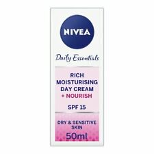 Nivea Visage Rich Moisturising Day Cream 50ml ** New and Boxed **UK