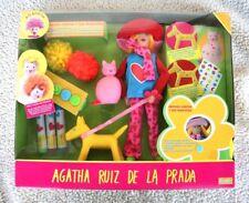 Muñeca AGATHITA Muchas Caras y sus Mascotas (AGATHA RUIZ PRADA, 2003 DOLL) NUEVA