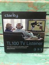 Clarity TV Listener TL100 Bluetooth Amplified Listening System Wireless Headset