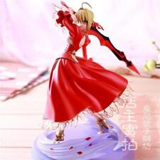 New Fate/stay night Fate/EXTRA Saber PVC Action Figure Anime Model Toy 23cm