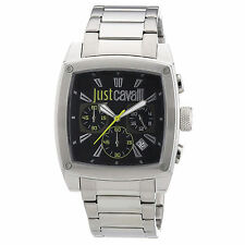 Just Cavalli Men's R7273583001 Pulp Chronograph Black Dial Stainless Steel Watch