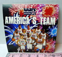 America's Olympic Dream Team 1992  Basketball Vintage Picture