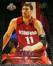 2008-09 UPPER DECK BROOK LOPEZ NEW JERSEY NETS NBA ROOKIE TRADING CARD #226