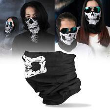 Skull Balaclava Traditional Face Head Mask Gator Black NWT GD