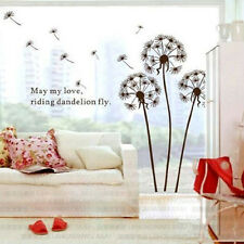 Removable Home Room Decor Art Vinyl Quote DIY Dandelion Wall Sticker Decal Mural