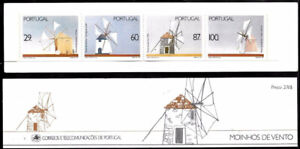 Portugal 1989 Windmills, Complete Booklet UNM / MNH
