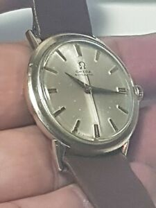 Vintag Omega Automatic Cal 550 Mens 10K GF Watch Working Nice