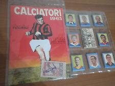 Album figurine Calciatori Lampo 1963 con Altafini  + Set completo Anastatica